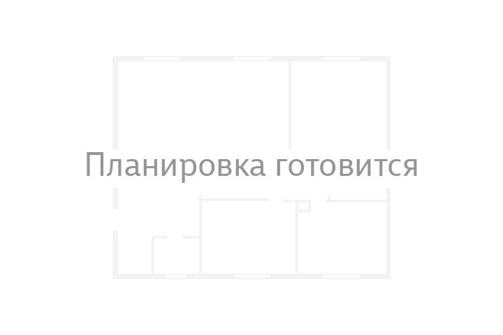 Планировка Коммерческое помещение площадью 55.9 кв.м в ЖК «Новая Охта»